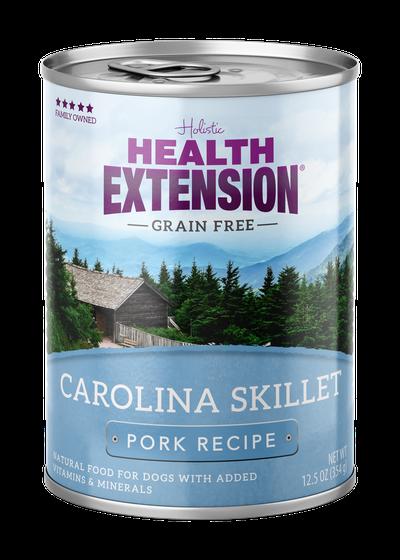 Health Extension Carolina Skillet Pork Recipe Wet Dog Food, 12.5-oz