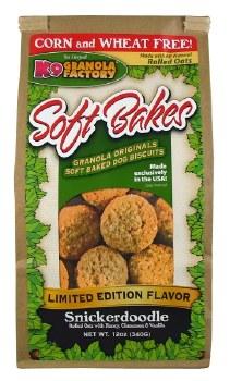 K9 Granola Factory Soft Bakes Snickerdoodle Dog Treats, 12-oz (Size: 12-oz) Image