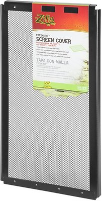 Zilla Fresh Air Screen Cover for Terrariums, 16-in x 8-in