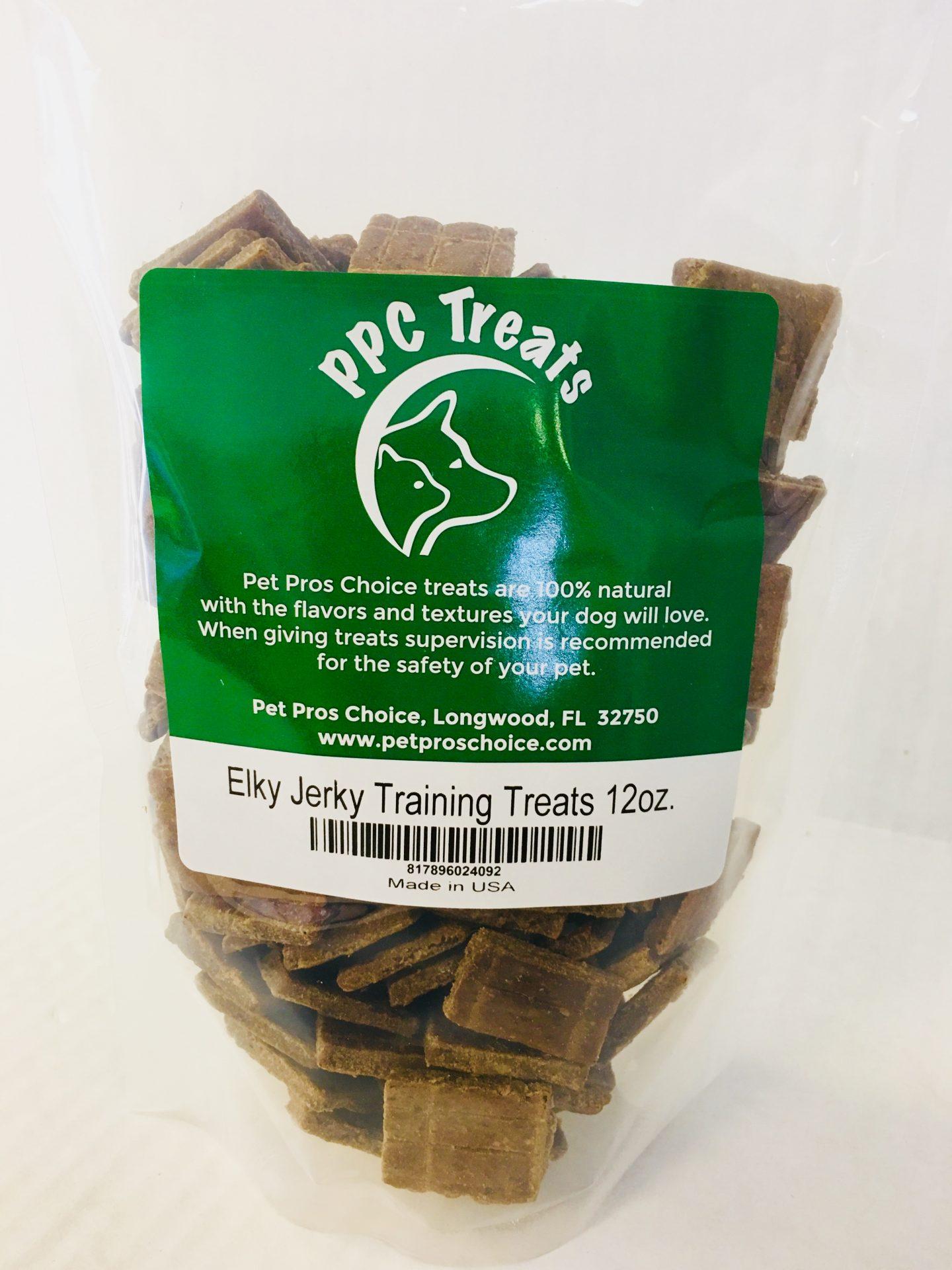 Pet Pros Choice Elky Jerky Training Treats, 12-oz