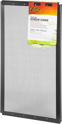 Zilla Fresh Air Screen Cover for Terrariums, 20-in x 10-in