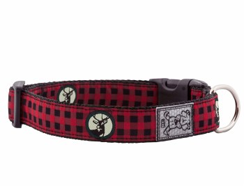 RC Pet Products Clip Urban Woodsman Dog Collar, Medium