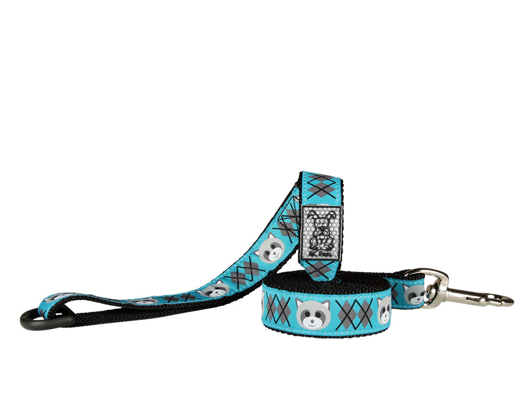 RC Pet Products Raccoon Dog Leash, 1inch x 6ft