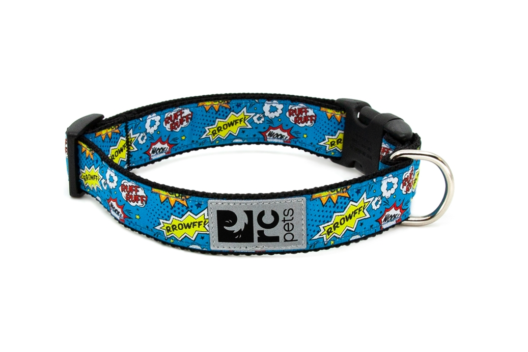 RC Pet Products Clip Comic Sounds Dog Collar, X-Small