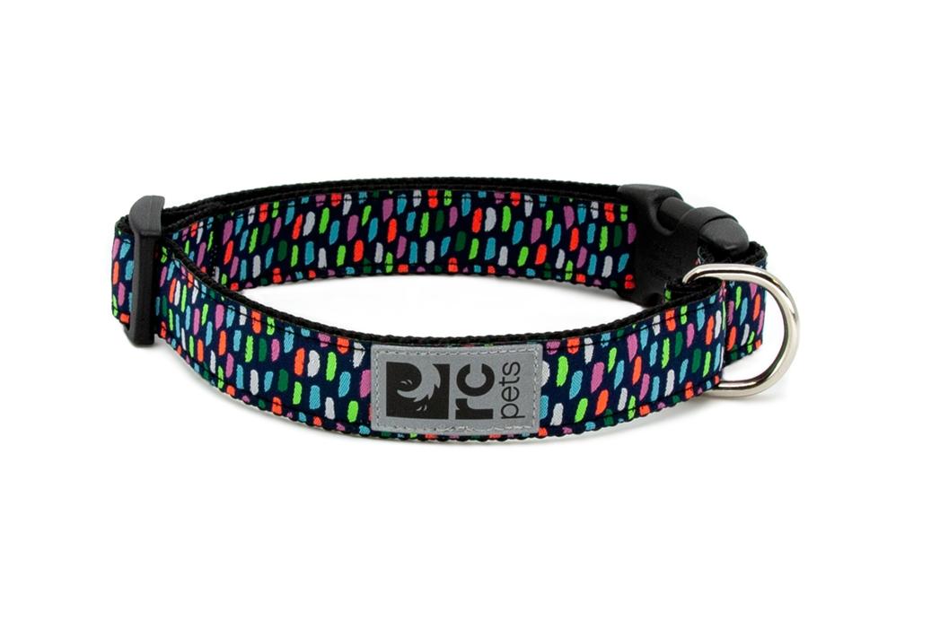 RC Pet Products Clip Confetti Dog Collar, Small