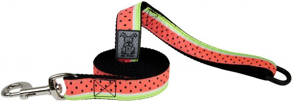 RC Pet Products Watermelon Dog Leash, 0.7inch x 6ft
