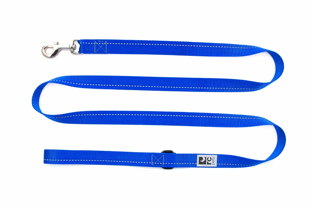 RC Pet Products Primary Royal Blue Dog Leash, 0.7inch x 6ft