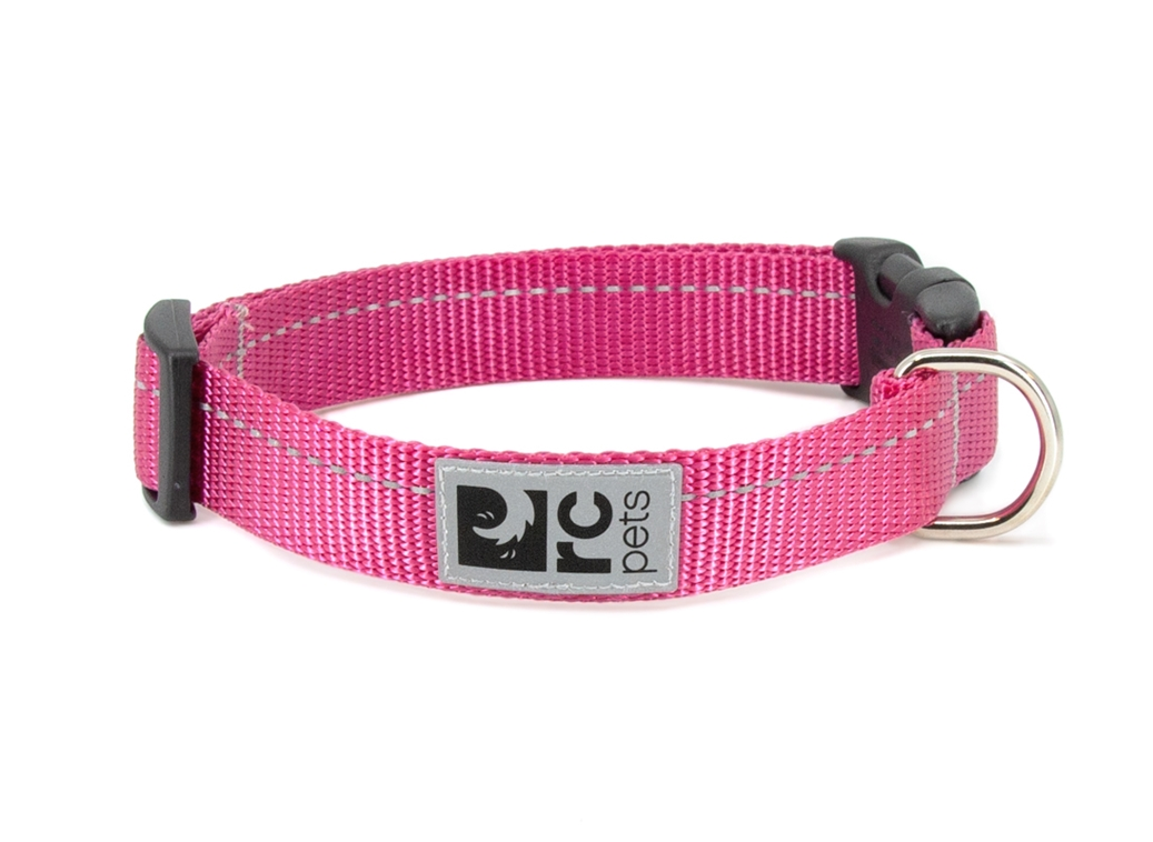 RC Pet Products Primary Clip Raspberry Dog Collar, XX-Small