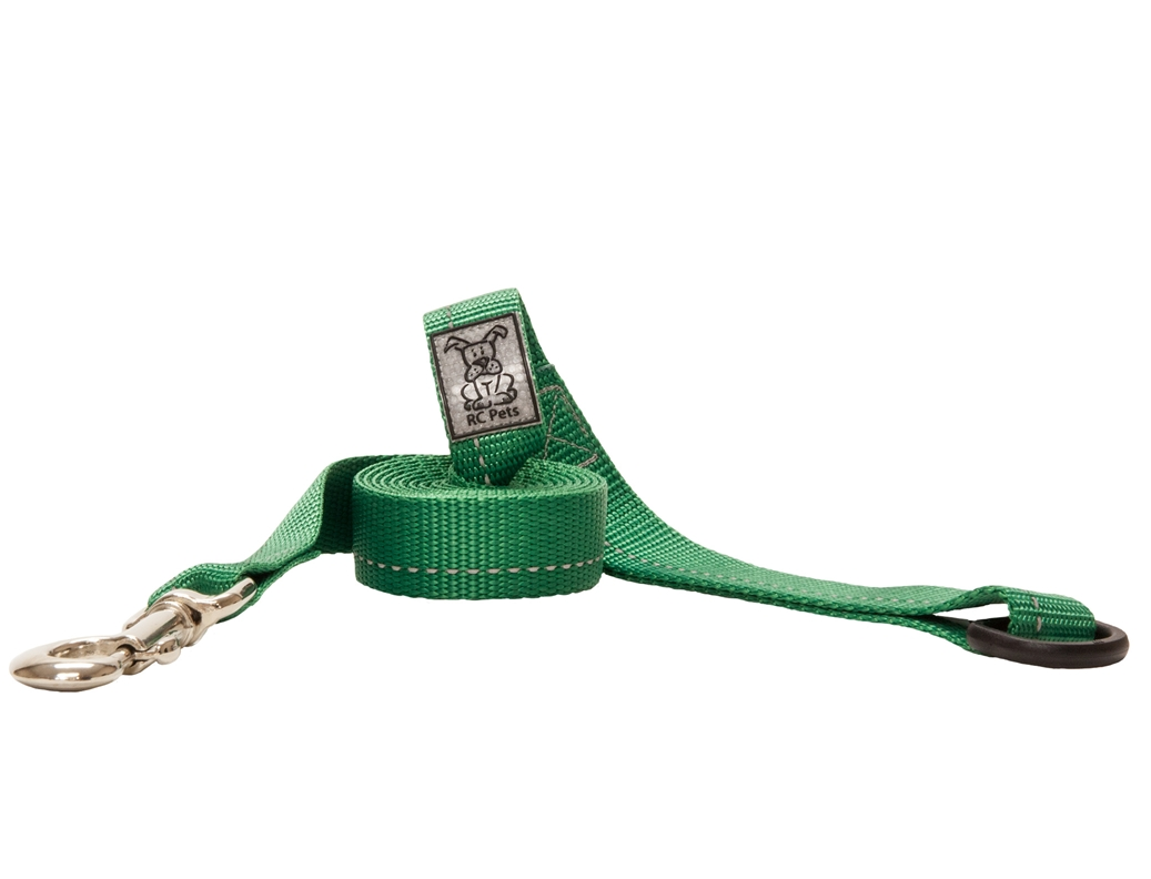 RC Pet Products Primary Green Dog Leash, 1inch x 6ft
