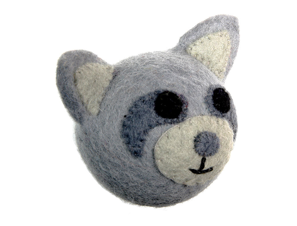 RC Pet Products Woodland Raccoon Dog Toy