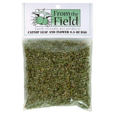 From The Field Lead And Flower Cat Catnip, 0.5-oz