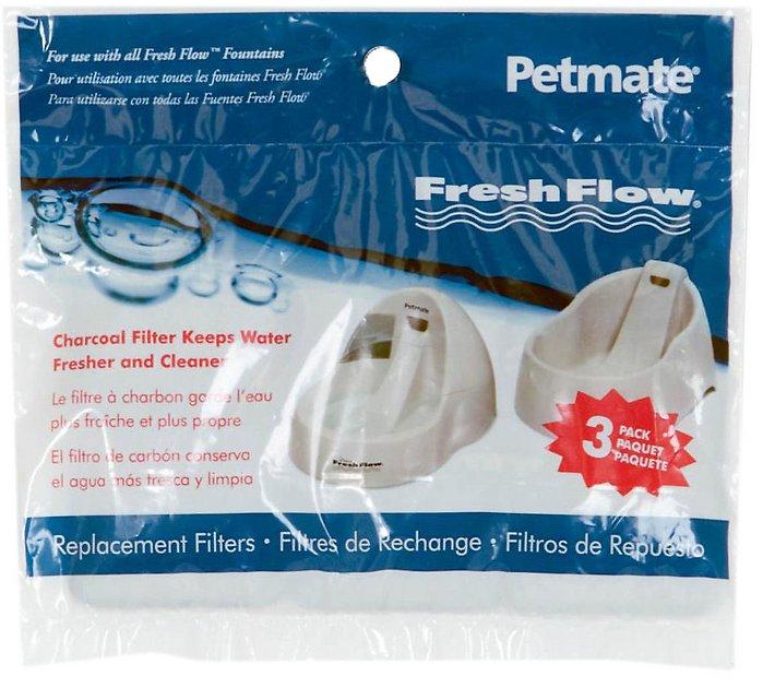 Petmate Fresh Flow Replacement Filters, 3-pk