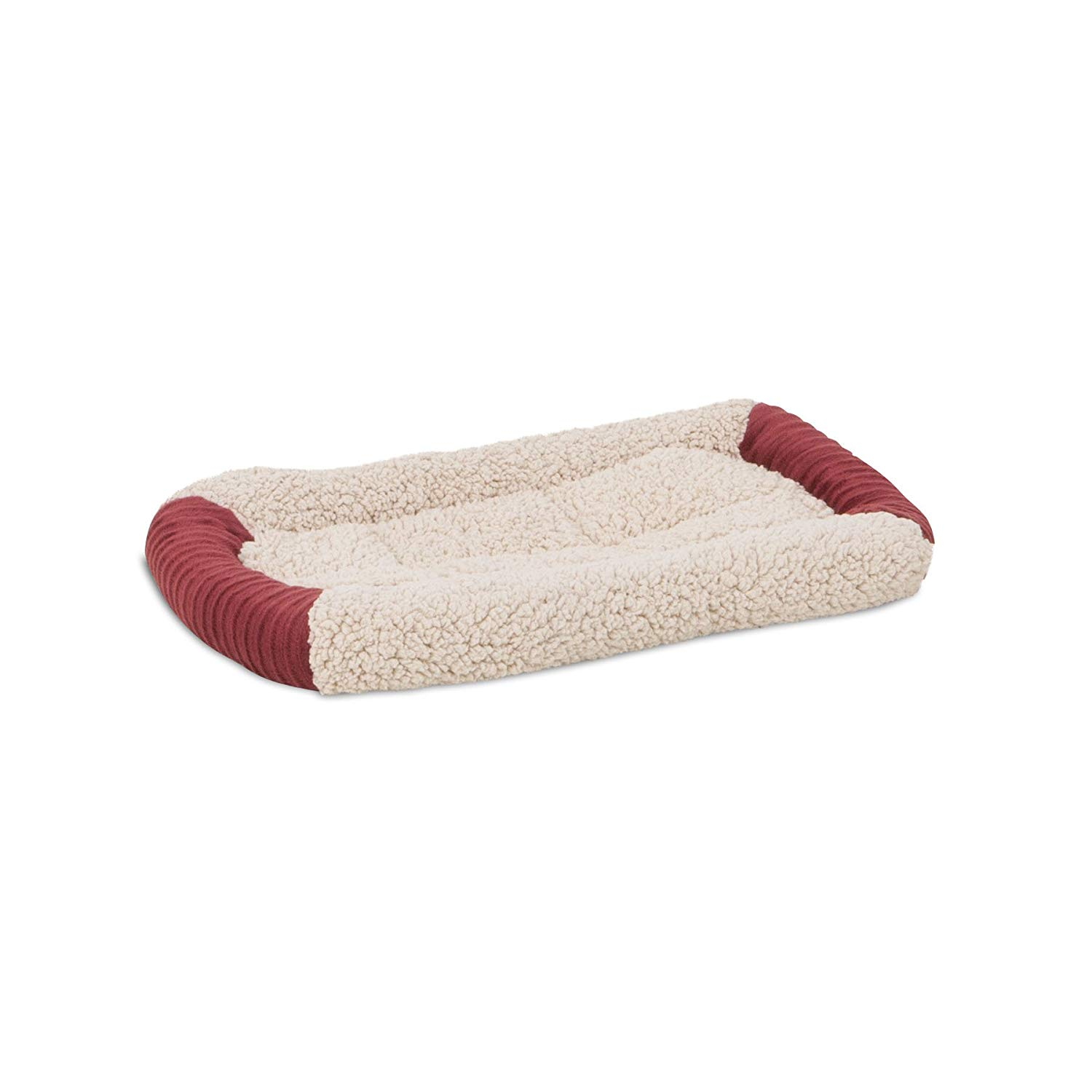 Aspen Pet Self Warming Barn Red Bolster Mat Image