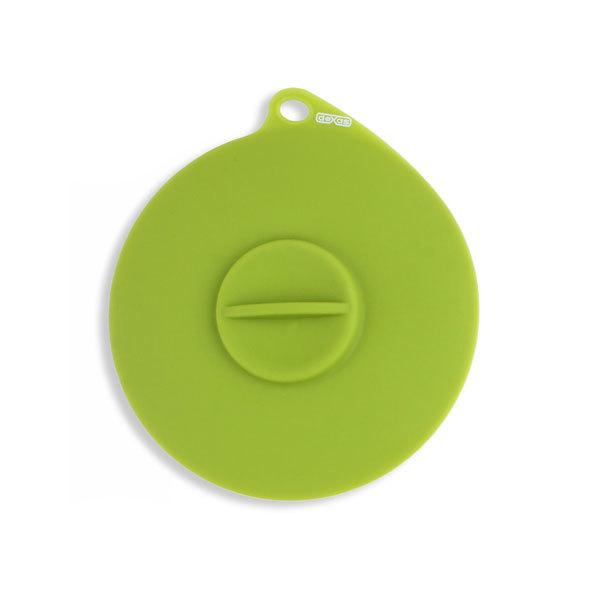 Dexas Popware for Pets Flexible Suction Lid, Green