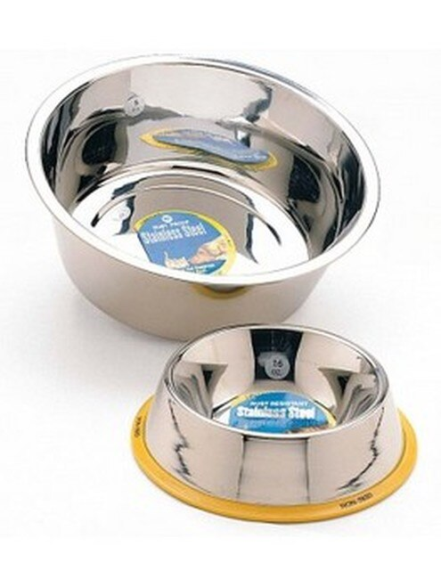 Ethical Pet Spot Ethical Stainless Steel Mirror Finish Pet Bowl, 3-quart