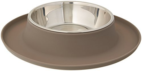 Messy Mutts Silicone Cat Feeder, Grey Image