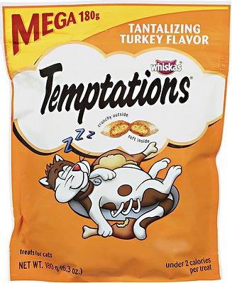 Temptations Tantalizing Turkey Flavor Cat Treats, 6.3-oz bag