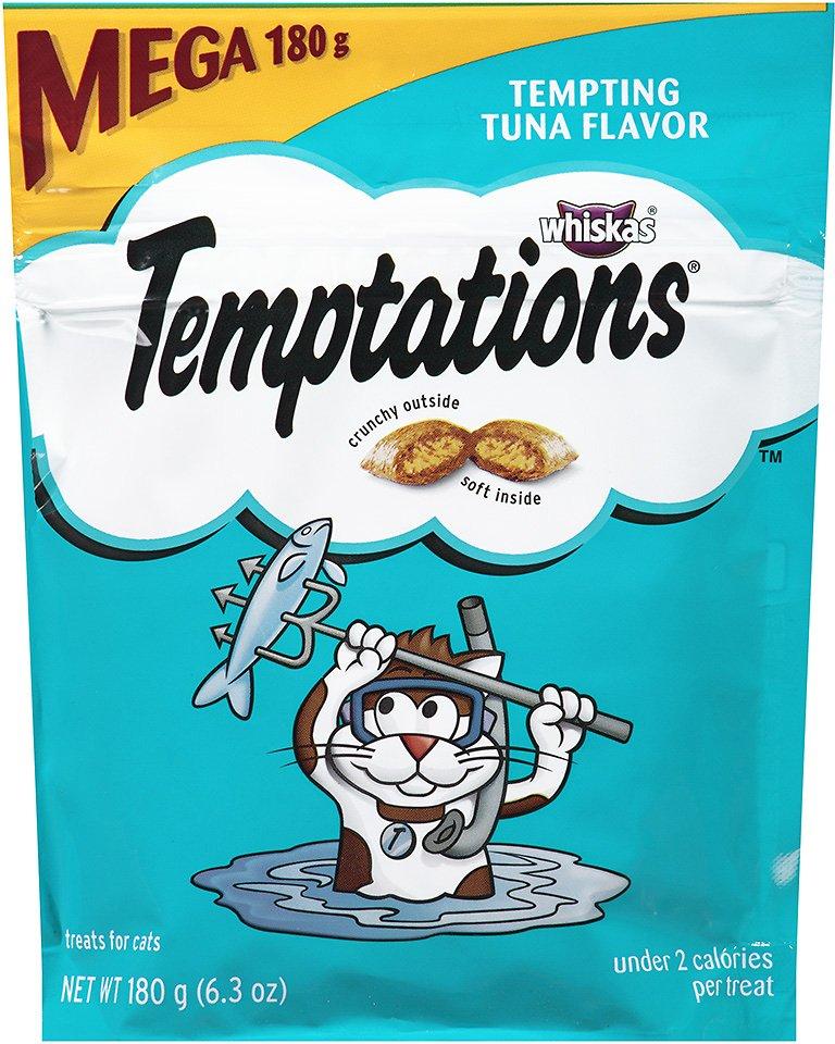 Temptations Tempting Tuna Flavor Cat Treats Image