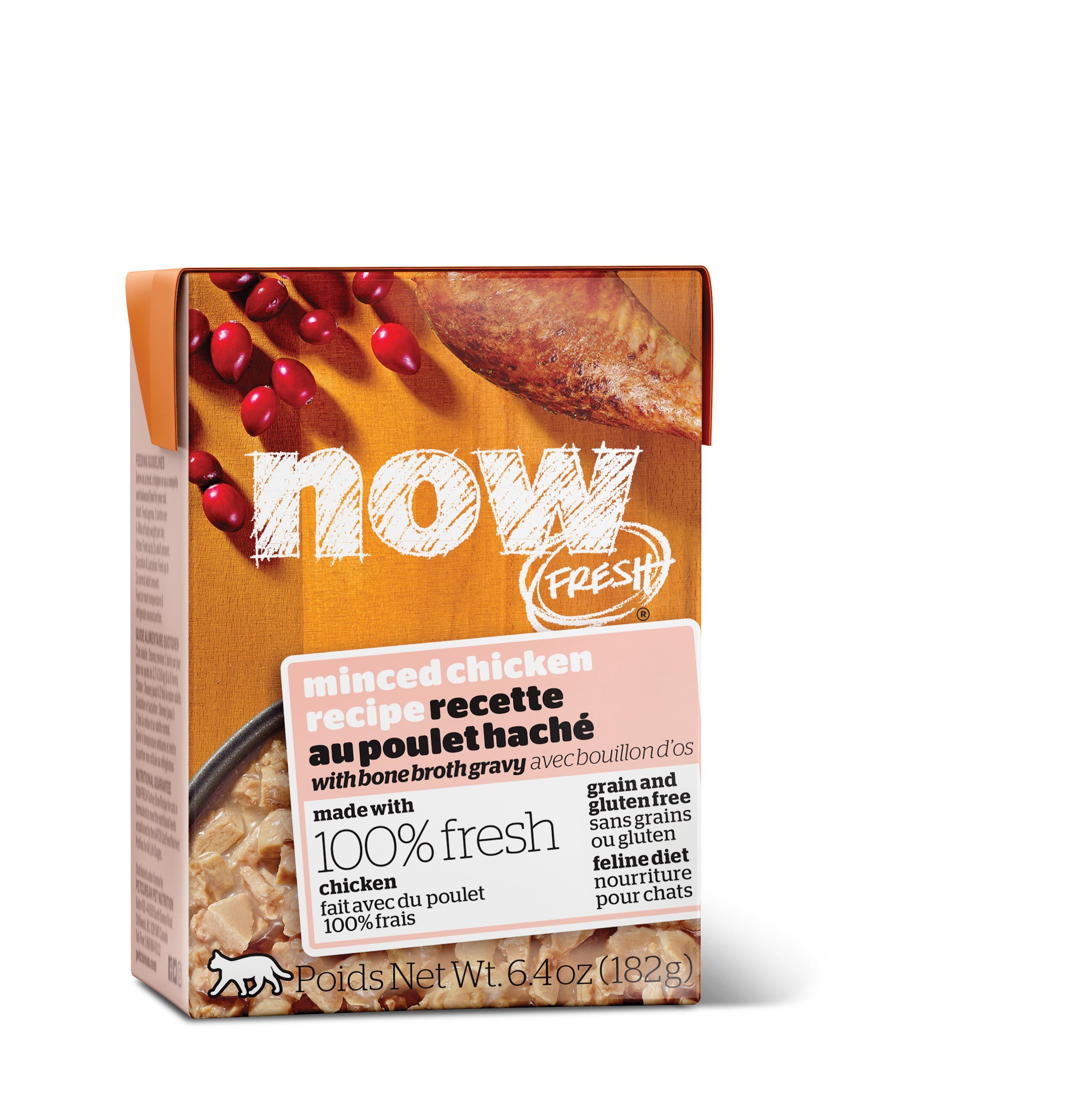 NOW FRESH Minced Chicken Grain-Free Wet Cat Food Image