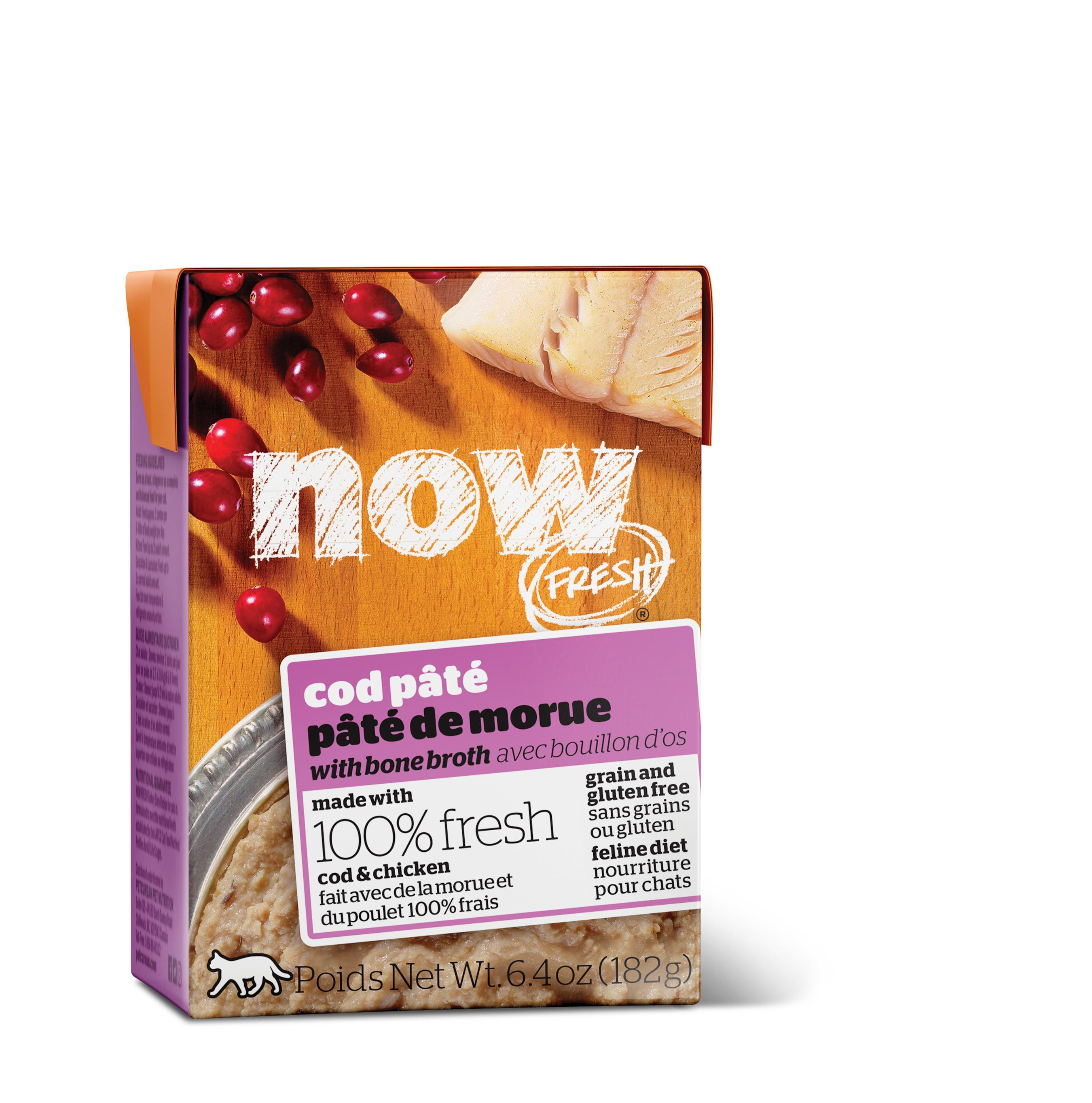 NOW FRESH Cod Pate Grain-Free Wet Cat Food Image