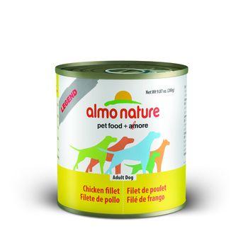 Almo Nature Legend Chicken Fillet Adult Grain-Free Wet Dog Food, 9.87-oz, case of 12