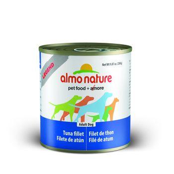 Almo Nature Legend Tuna Fillet Adult Grain-Free Wet Dog Food, 9.87-oz, case of 12