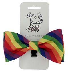 Huxley & Kent Pride Dog Bow Tie, Small