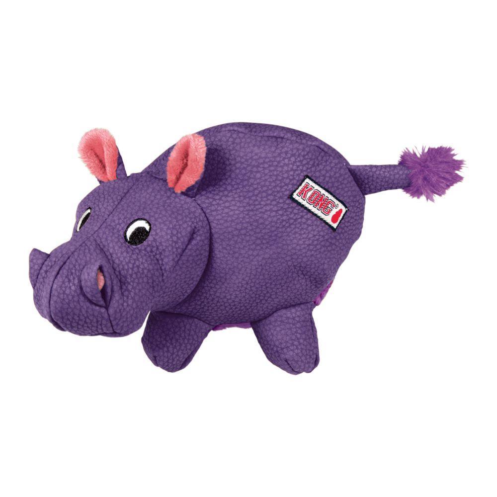 KONG Phatz Hippo Dog Toy, X-Small