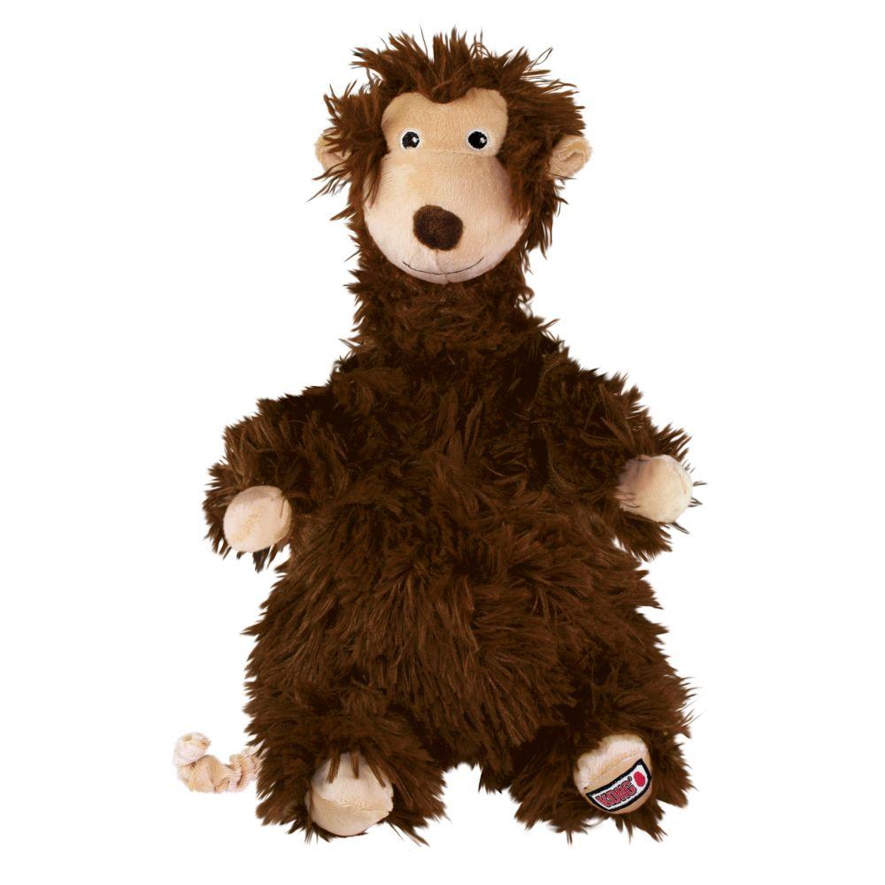 KONG Comfort Flopzie Monkey Dog Toy, Large Size: Large