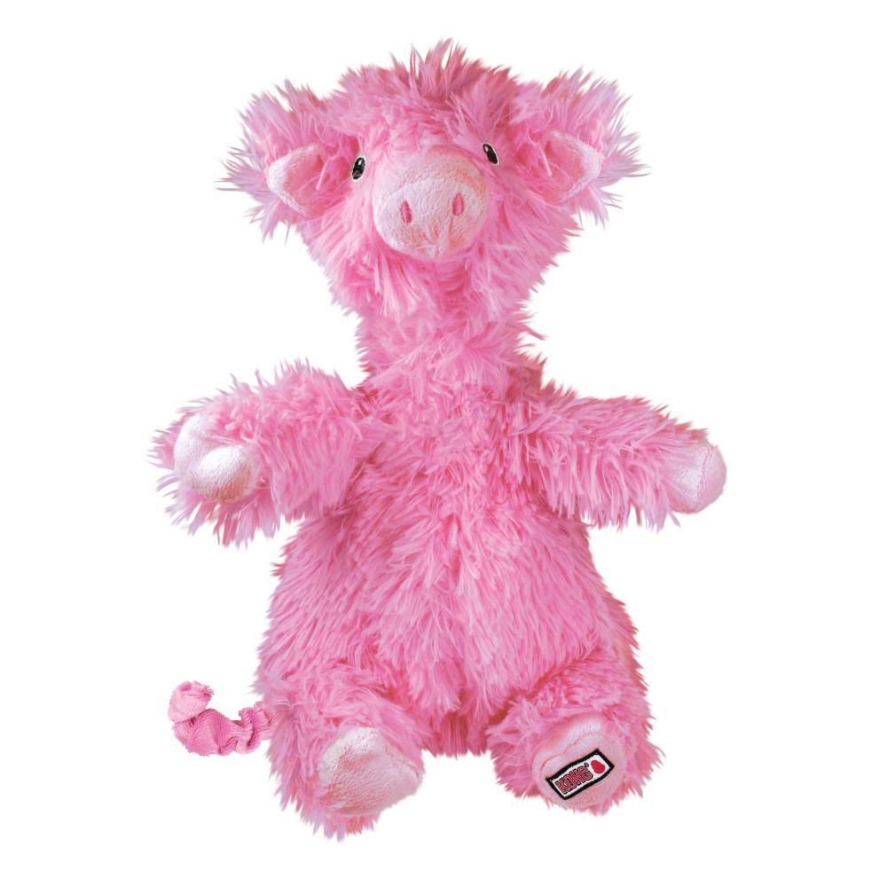 KONG Comfort Flopzie Pig Dog Toy, Large