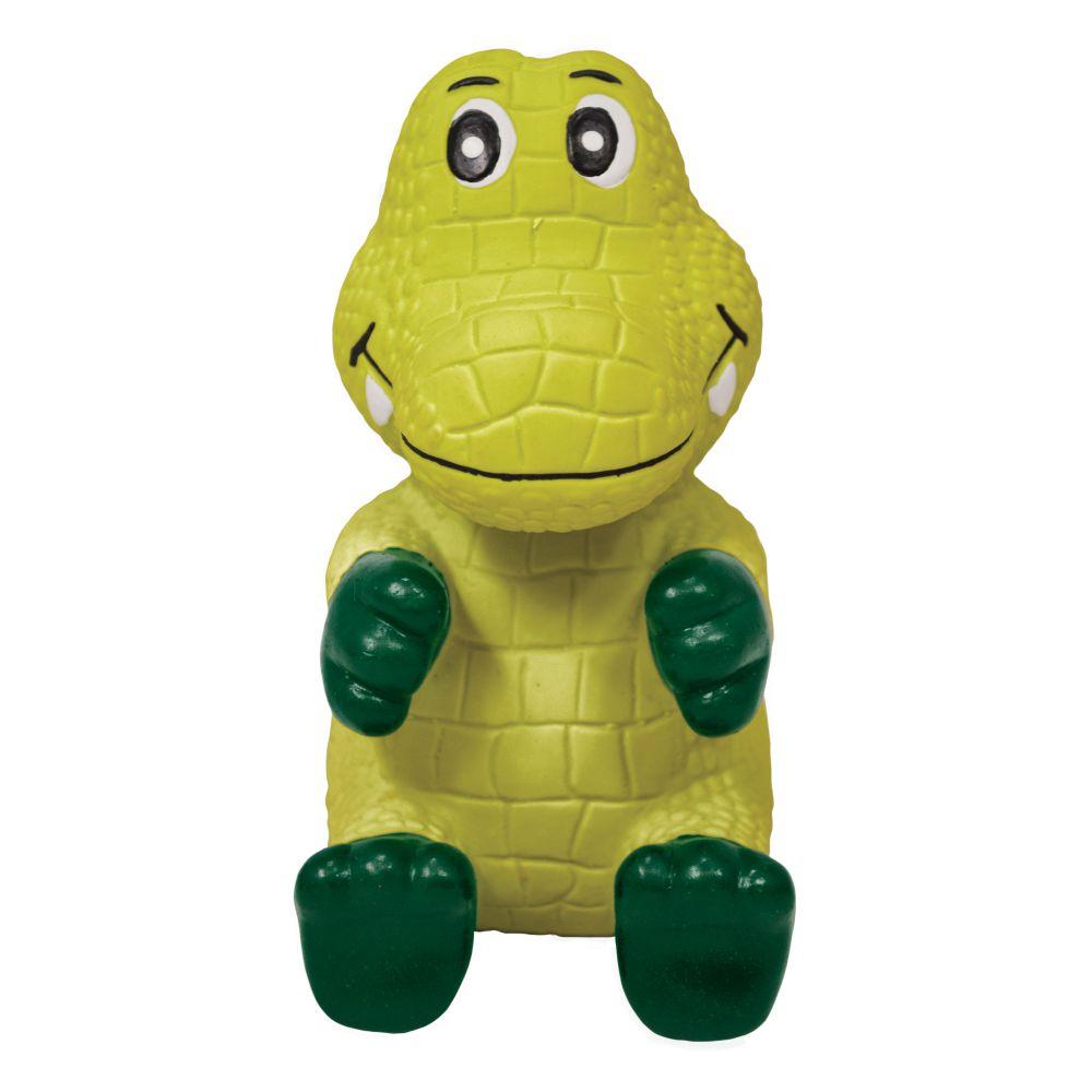 KONG Wiggi Alligator Dog Toy, Large