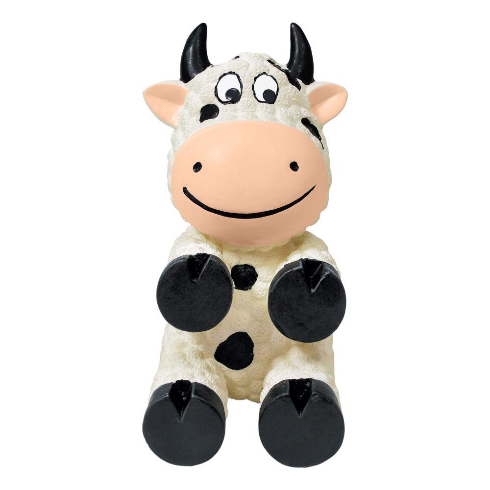 KONG Wiggi Cow Dog Toy, Small