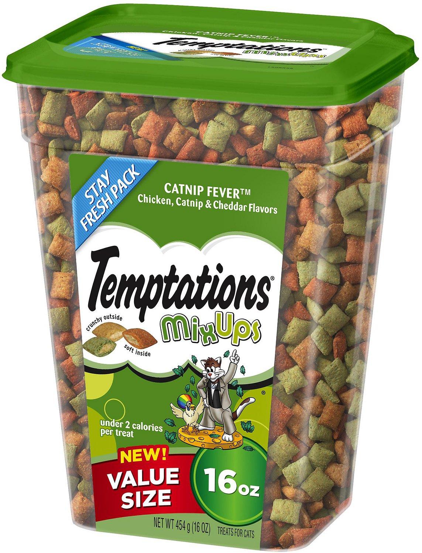 Temptations Mixups Catnip Fever Cat Treats Image