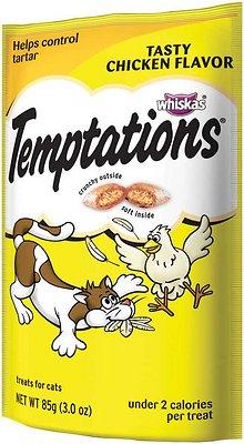 Temptations Tasty Chicken Flavor Cat Treats, 3-oz bag