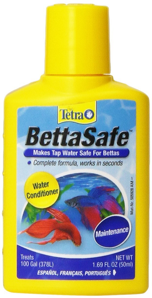 Tetra BettaSafe Aquarium Water Conditioner, 1.69-oz bottle