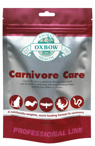 Oxbow Animal Health Carnivore Care Assist-Feeding Formula Pet Supplement, 70-g