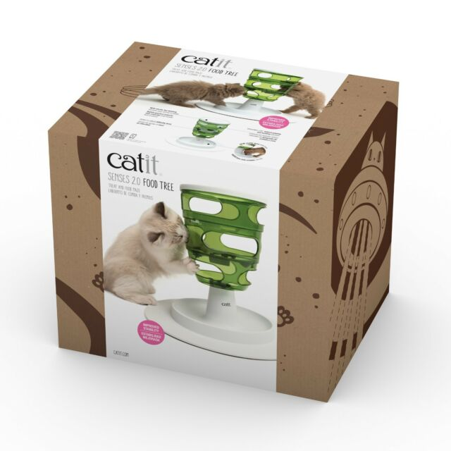 Catit Senses 2.0 Food Tree Cat Feeder Image