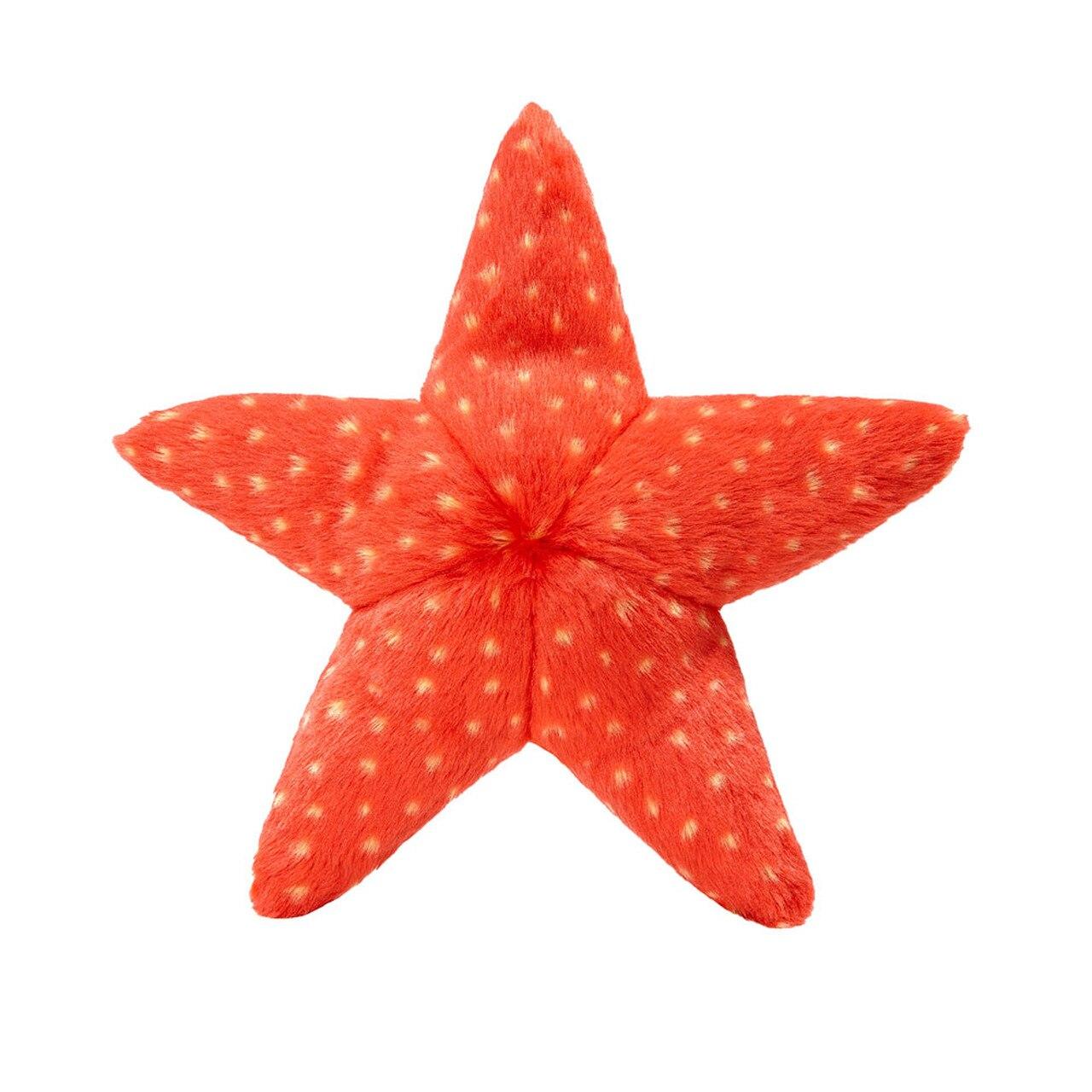 Fluff & Tuff Ziggy the Starfish Dog Toy, Medium