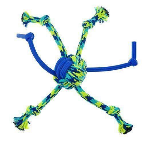 Zeus K9 FitnessTPR SpiderBall Rope Dog Toy Image