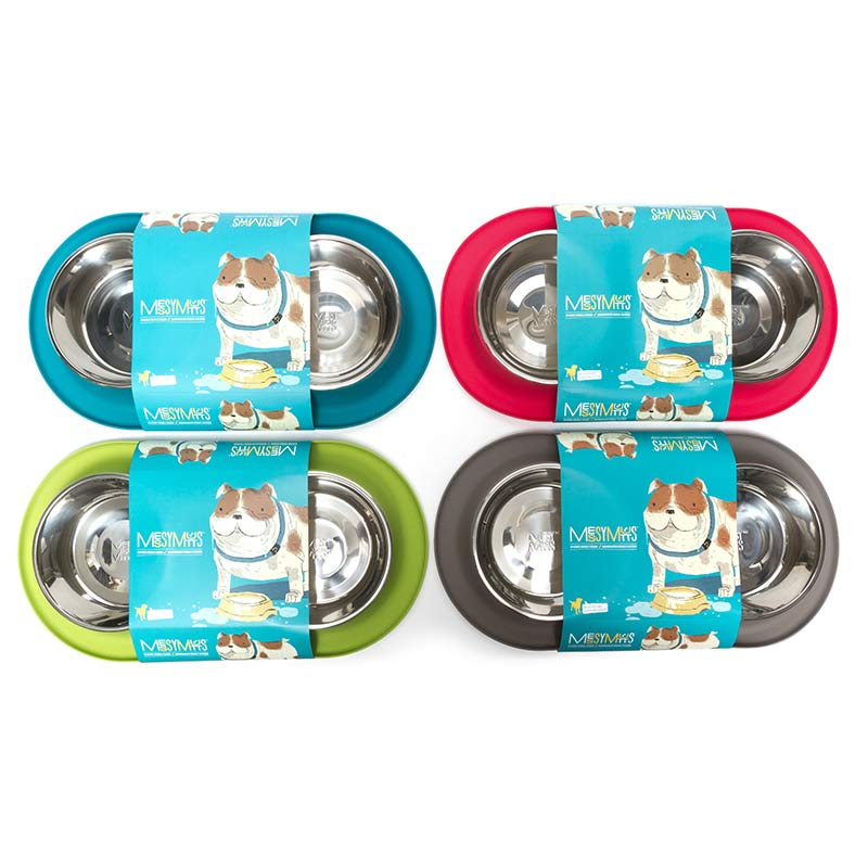 Messy Mutts Silicone Double Feeder Image