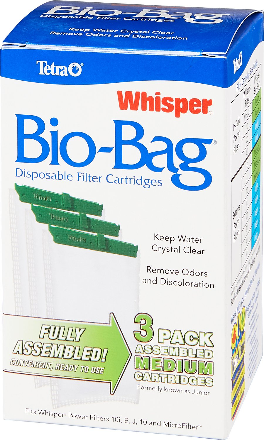 Tetra Whisper Bio-Bags Medium Filter Cartridge Image