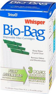 Tetra Whisper Bio-Bags Medium Filter Cartridge, 3 count