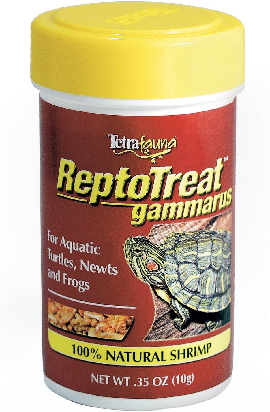 Tetrafauna ReptoTreat Gammarus Turtle, Newt & Frog Treats, .35-oz jar