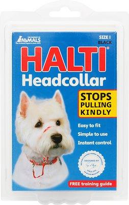 Halti Dog Headcollar, Black, Size 1