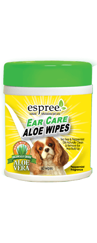 Espree Ear Care Aloe Dog Wipes, 60-count (Size: 60-count) Image