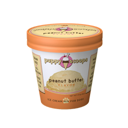 Puppy Cake Puppy Scoops Ice Cream Mix Peanut Butter Flavored Dog Treats, 6-oz