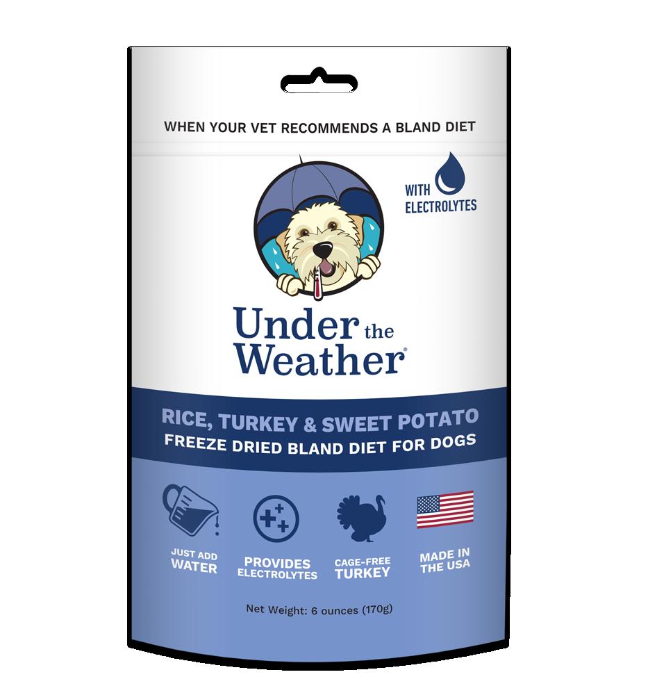 Under The Weather Rice Turkey & Sweet Potato Freeze-Dried Dog Food, 6-oz