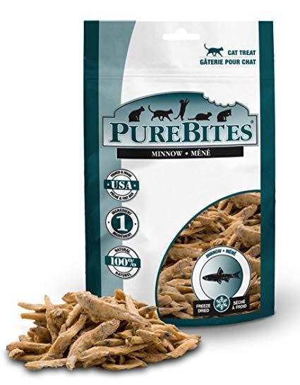 Pure Bites Minnow Freeze-Dried Cat Treats, 1.09-oz