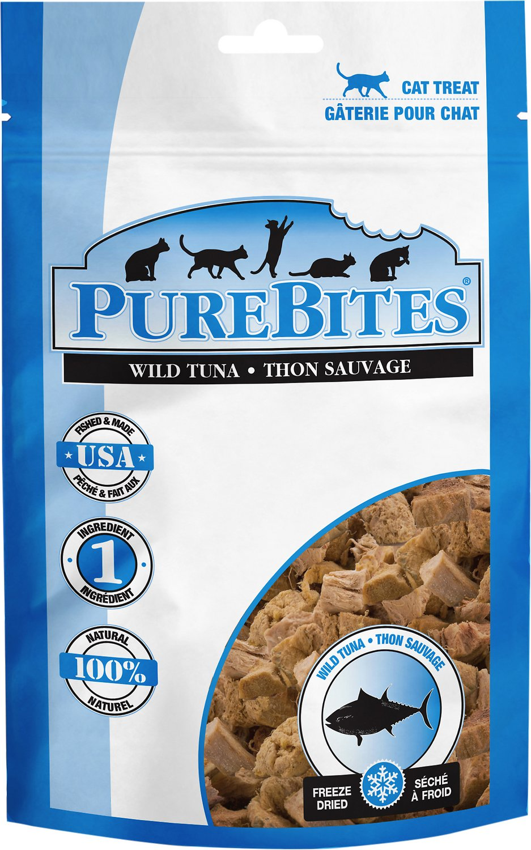 PureBites Tuna Freeze-Dried Raw Cat Treats, 0.88-oz