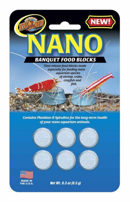 Zoo Med Nano Banquet Food Blocks, 10 pack